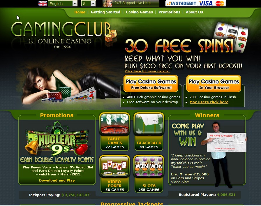 online casino top free  games